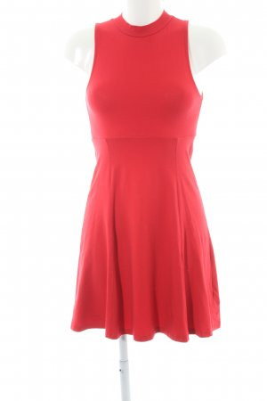 Asos Minikleid rot minimalistischer Stil