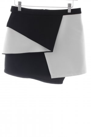 Asos Minirock schwarz-weiß Retro-Look