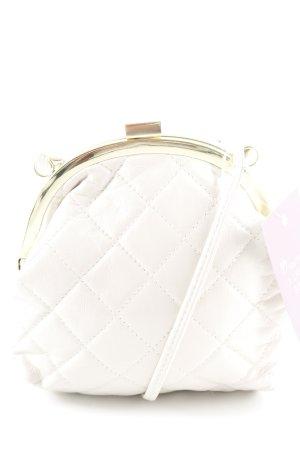 Asos Mini Bag oatmeal quilting pattern elegant