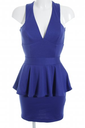 Asos Halter Dress blue party style