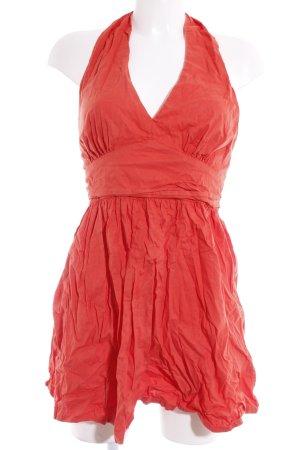 Asos Halter Dress salmon beach look