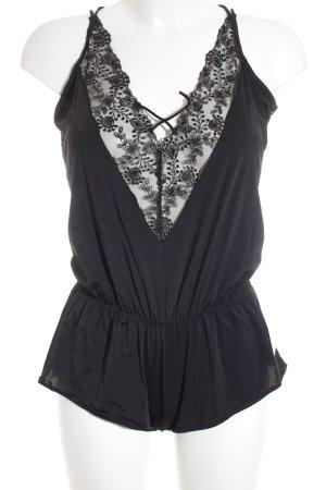 Asos Negligee black floral pattern elegant