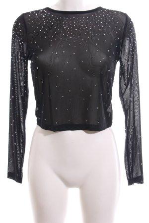 Asos Netzshirt schwarz Elegant