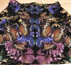 ASOS * NEU * ROCK ❤️ Ensemble mit Schmetterling * A-Linie * A Linie ❤️ Spiegeldruck * Gr. L oder Gr. 42 * Schmetterlingsmuster