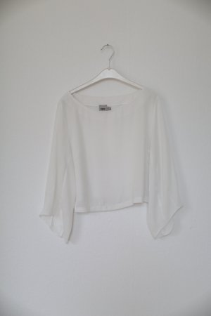 Asos Transparante blouse wit