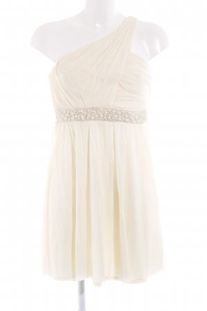 Asos One Shoulder Dress cream elegant