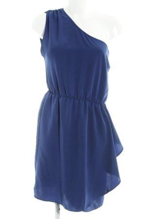 Asos One-Shoulder-Kleid dunkelblau Casual-Look