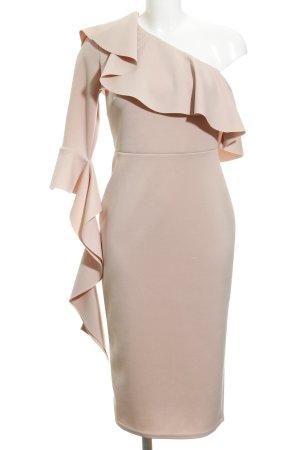 Asos One-Shoulder-Kleid rosé Elegant