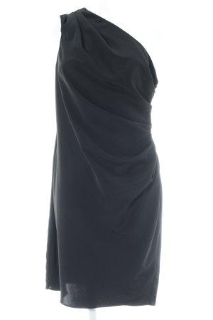 Asos One-Shoulder-Kleid schwarz Elegant