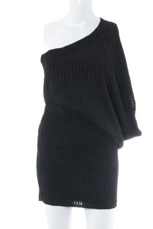 Asos Eénschouderjurk zwart elegant