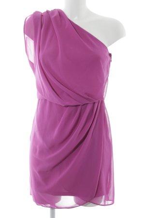 Asos One Shoulder Dress violet elegant