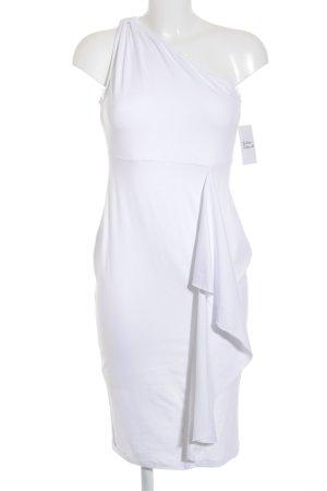 Asos One-Shoulder-Kleid weiß schlichter Stil