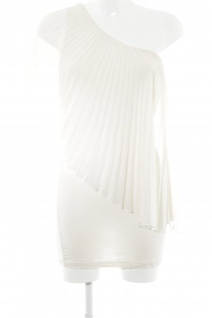Asos One-Shoulder-Top creme Elegant