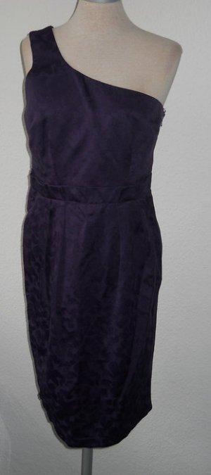 Asos oneshoulder Kleid lila Abendkleid Gr. UK 12 38 S M