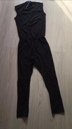ASOS Onesie Jumpsuit Overall schwarz XS
