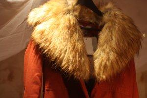 Asos Oversize Mantel mit Riesen Fellkragen