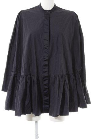 Asos Oversized Bluse dunkelblau Elegant