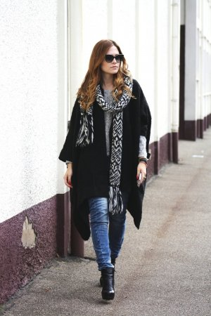 ASOS Oversized Jacke, braun
