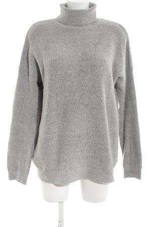 Asos Maglione oversize grigio chiaro puntinato stile casual