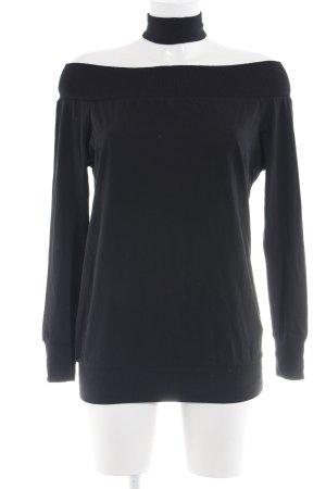 Asos Oversized trui zwart casual uitstraling