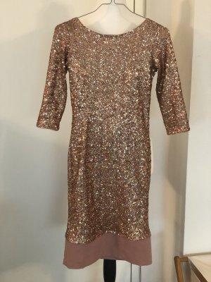 Asos Petite Evening Dress rose-gold-coloured-pink