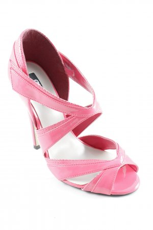 Asos Peeptoe Pumps neonpink Party-Look