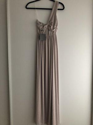 Asos Petite Vestido largo nude