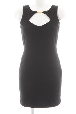 Asos Petite A-lijn jurk zwart casual uitstraling