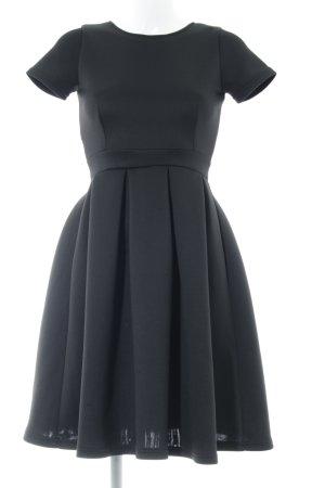 Asos Petite Vestido de noche negro elegante