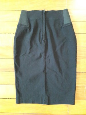 Asos Petite Bleistiftrock Pencilskirt XS XXS 32 Schwarz neu