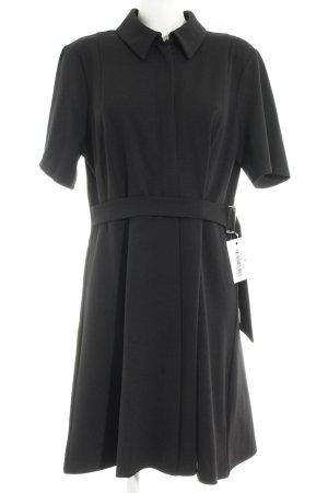 Asos Petite Vestido camisero negro elegante