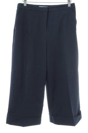 Asos Petite Pantalone culotte blu scuro stile professionale