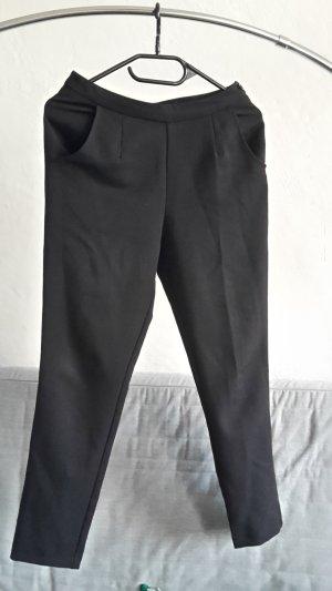 Asos Petite Pantalon taille haute noir