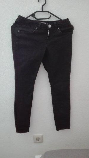 Asos Drainpipe Trousers black