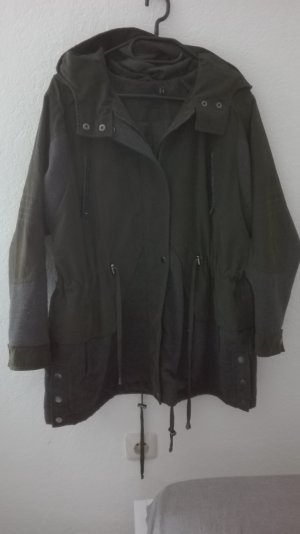 Asos Petite Jacke Parka Mantel khaki Übergangsjacke Jacke S 36