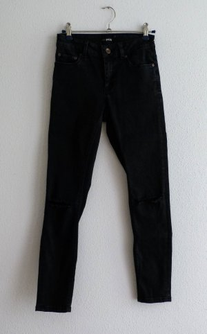 ASOS petite jeans schwarz