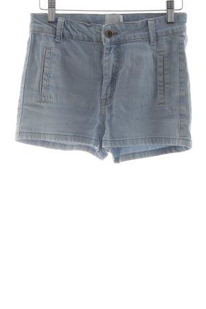Asos Petite Pantaloncino di jeans azzurro stile casual