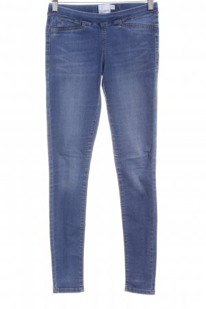 Asos Petite Jeggings stahlblau Casual-Look