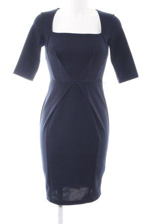 Asos Petite Midi-jurk blauw zakelijke stijl