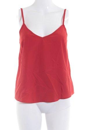 Asos Petite Top con bretelline rosso stile casual