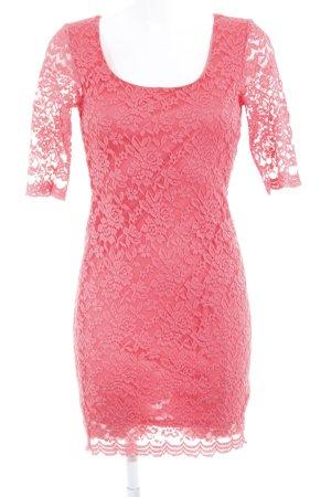 Asos Petite Kanten jurk framboosrood elegant