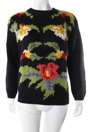 Asos Petite Strickpullover Blumen-Muster