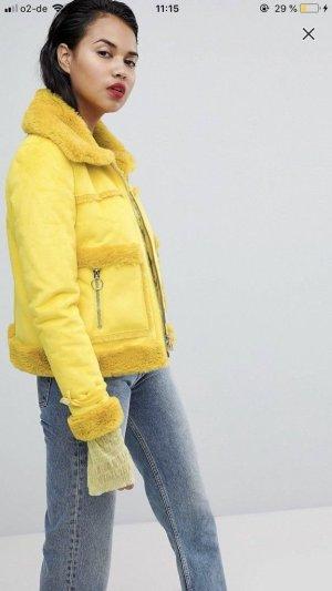 Asos Bikerjack geel