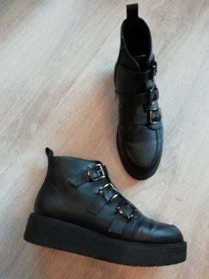 Asos Platform Booties Ankles Stiefelette Plateau