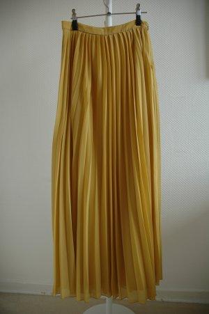 Asos Geplooide rok oker-zandig bruin Polyester