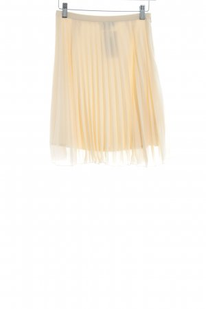 Asos Pleated Skirt nude casual look