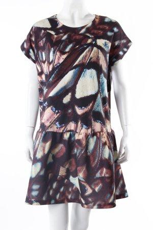 Asos Print-Kleid Neopren bunt