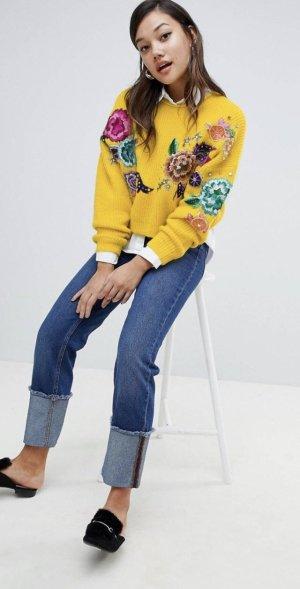 ASOS Pullover gelb