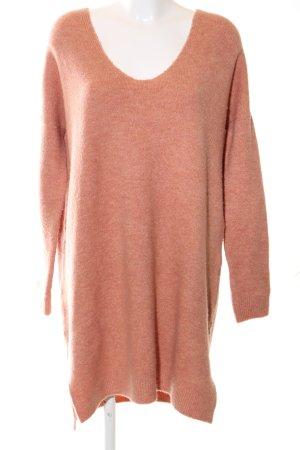 Asos Abito maglione arancione chiaro puntinato stile casual