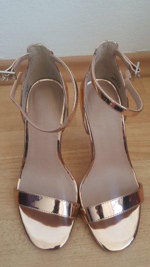 Asos Pumps Sandalen Rose gold high heels
